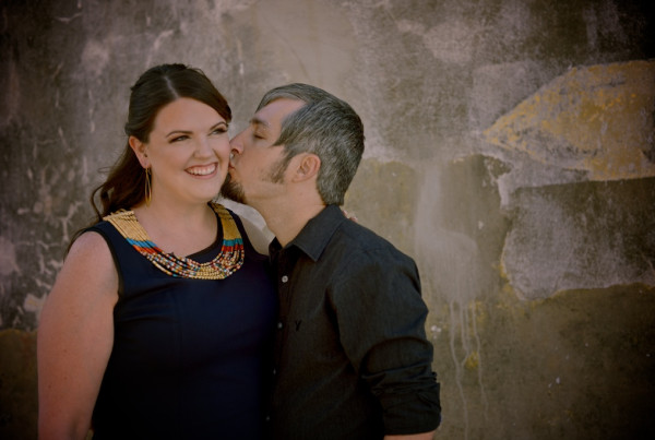 Hotel Galvez, The Strand & The Galveston Seawall Engagement Photo Shoot