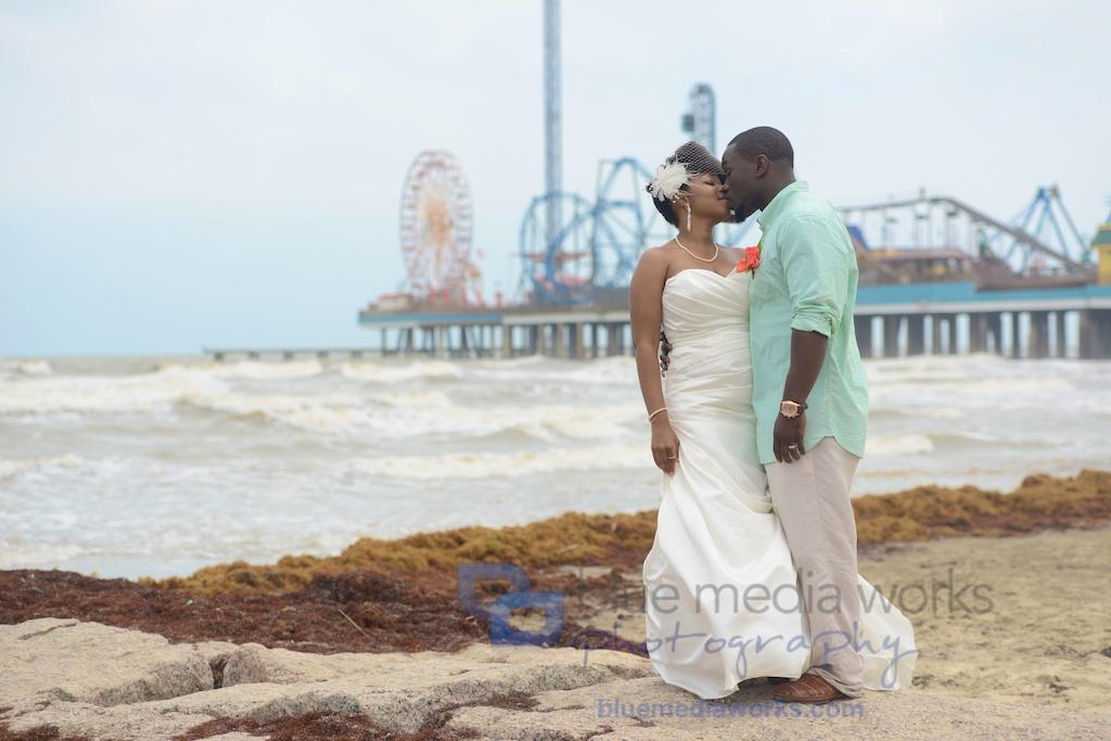 Wedding In Galveston Beach