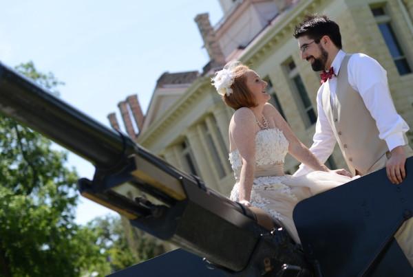 Emily & Raphael's Outdoor wedding at Pecan Street Brewing - Johnson City, TX