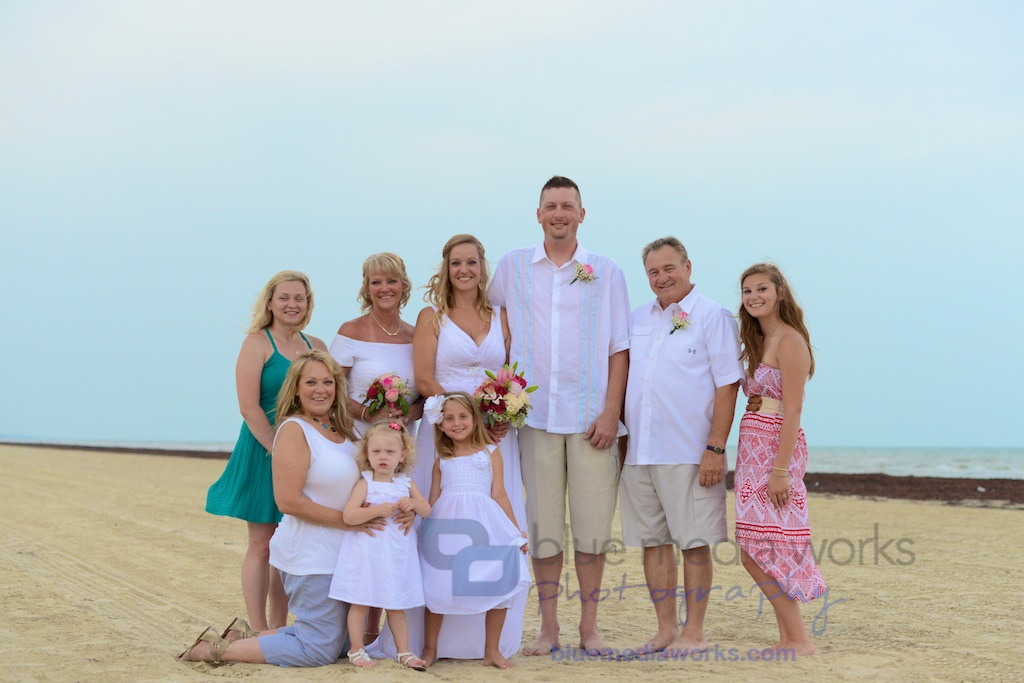 galveston beach wedding in galveston texas beach wedding at pointe west beach club