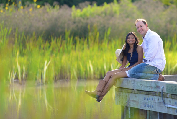Challenger Seven Memorial Park Photography Session - Engagement Photographer