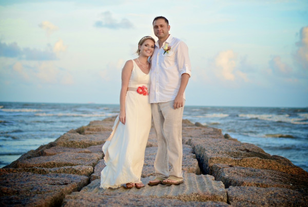 Galveston, TX Beach Wedding