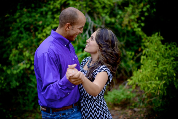 Terry Hershey Park Engagement Photo